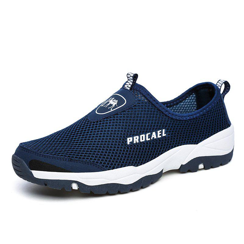 Online Sports Outdoor Mesh Breathable Hollow Lazy Shoes For Men