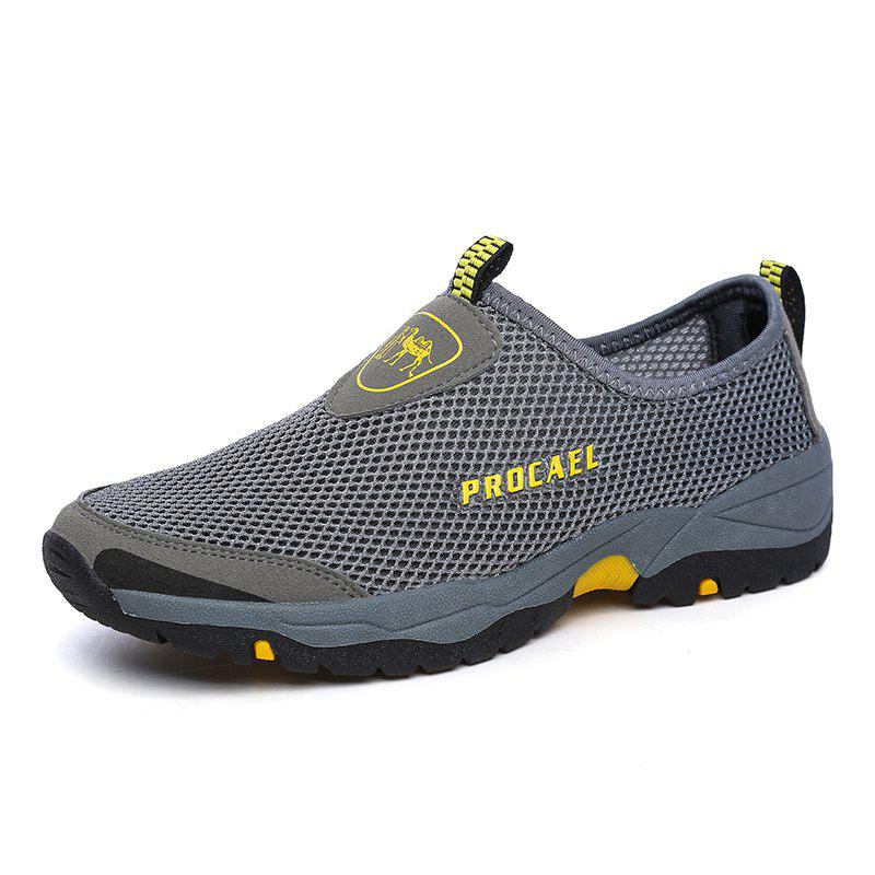 Sale Sports Outdoor Mesh Breathable Hollow Lazy Shoes For Men