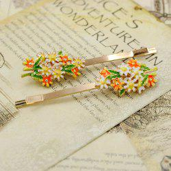 Fashion Color Oil Drop Hairpin -