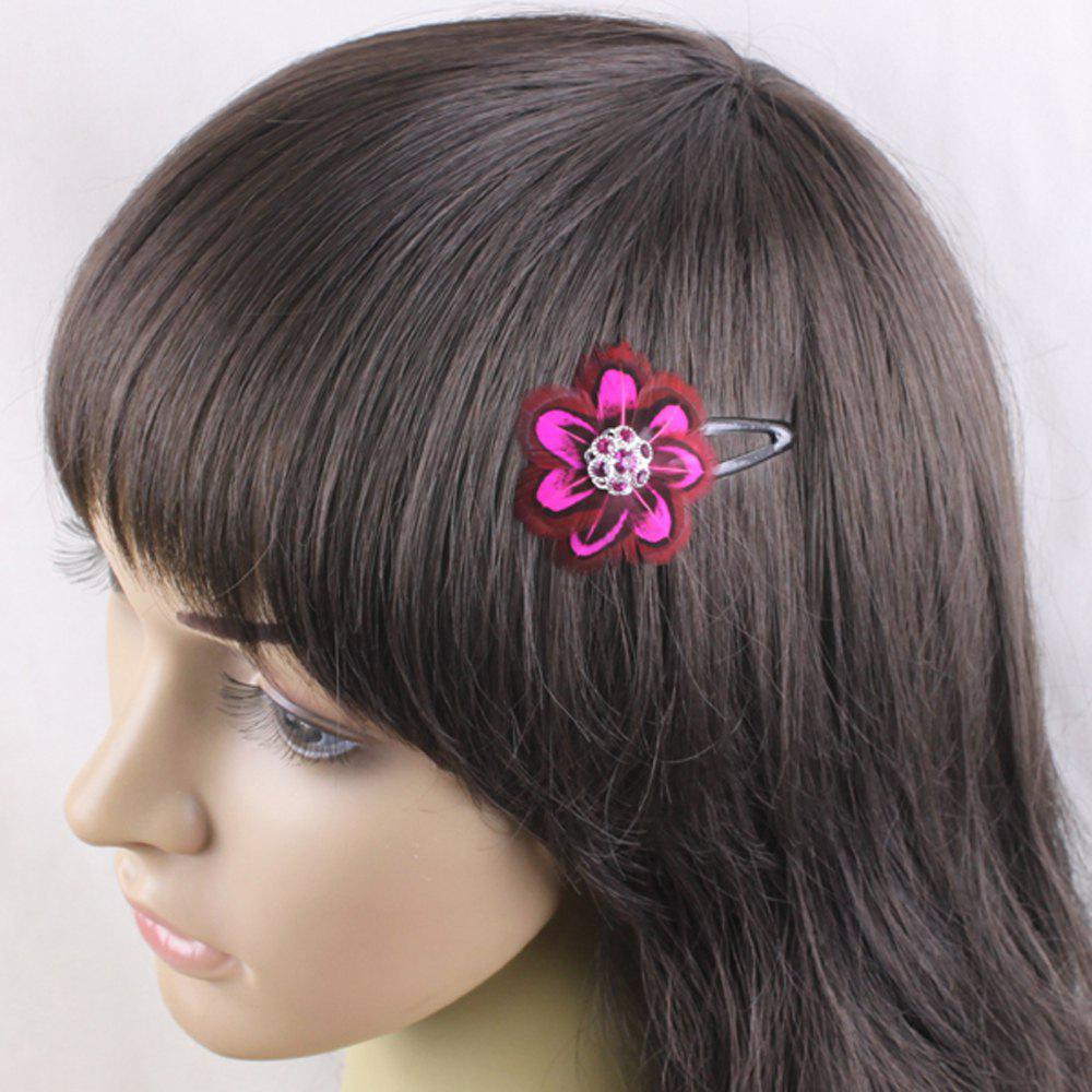 Discount Colorful Feather Hair Accessories For Girls