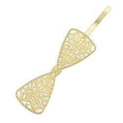Fashionable Golden Hollow-out Hairpin -