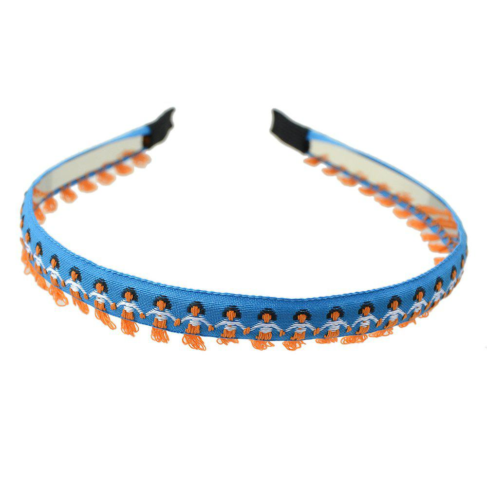 Affordable Fashionable Blue Man Hair Hoop