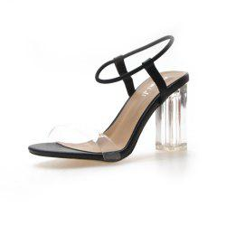 Fashion Thick and High Heels Female Sandals 1919 -