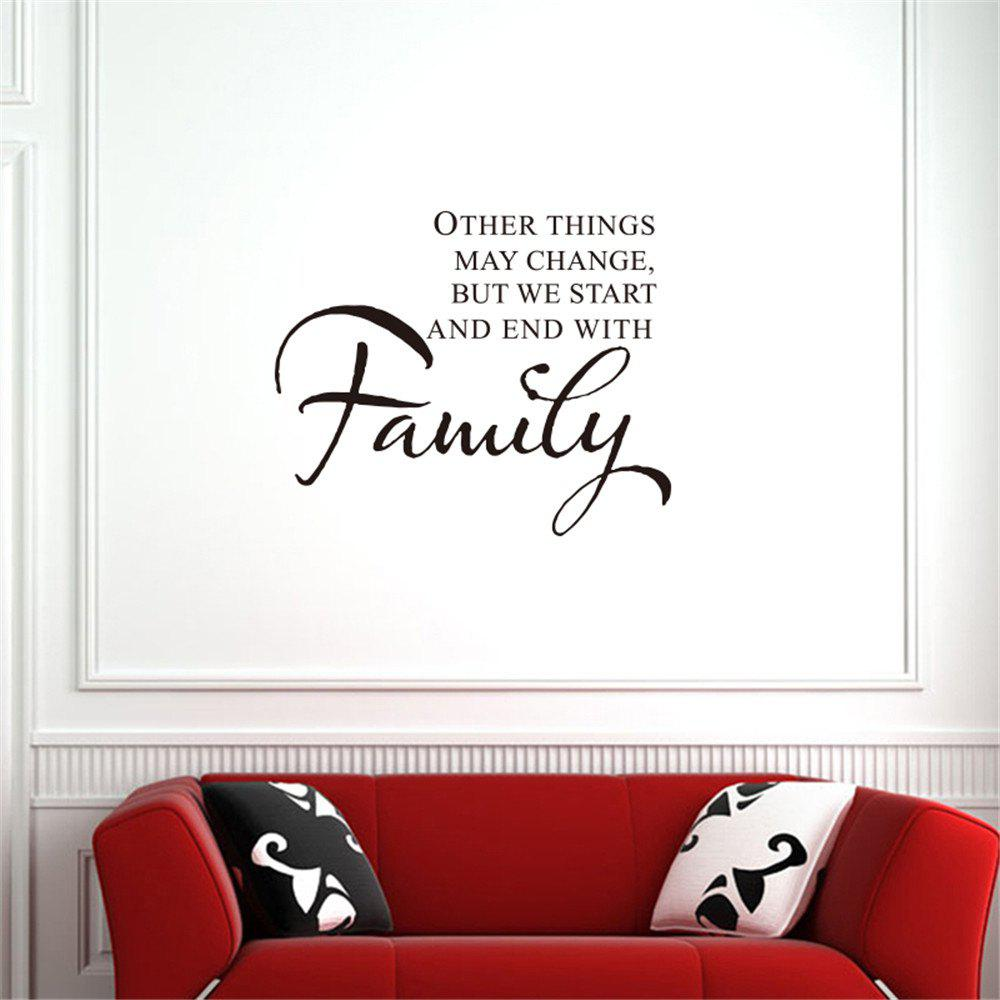 Other Things May Change Art Apothegm Home Decal Wall Sticker