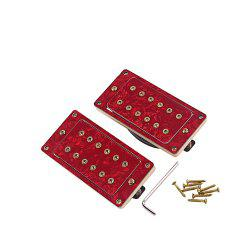 Magnet Rouge Noiseless Guitar Humbucker Bridge Ensemble micro de lecture -