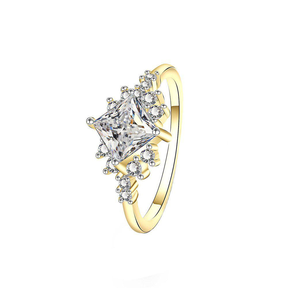 New Creative Starry Artificial Diamond Wedding Ring