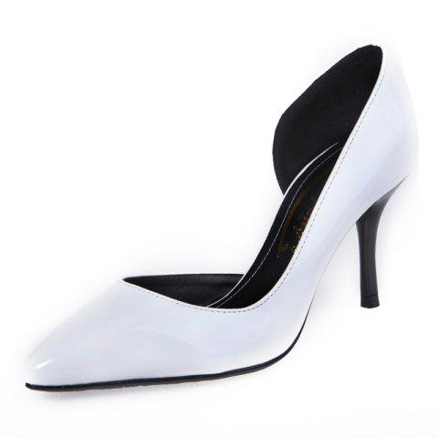 Pointed High Heels Side Empty Shoes