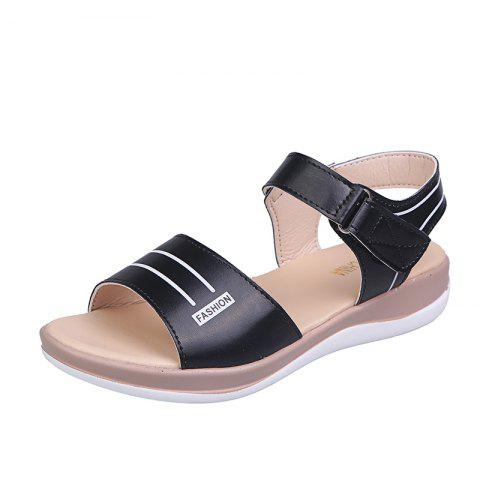 Fashionable and Comfortable with Flat Women Sandals C33
