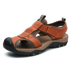 ZEACAVA Men's Large Size Outdoor Sandals Beach Shoes -