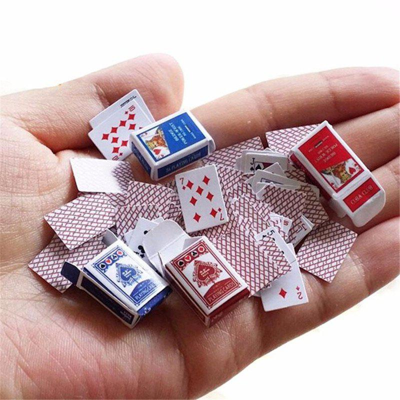 Outfit Mini Cute Poker Home Decoration Poker Cards Playing Game Creative Gift