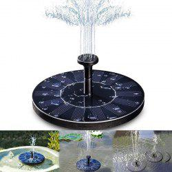 Solar Floating Bath Fountain Pump For Garden and Patio Watering -