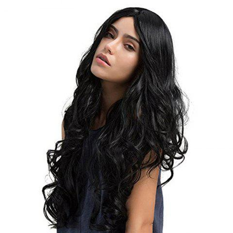 Female Long Curly Hair Fluffy Face Wig