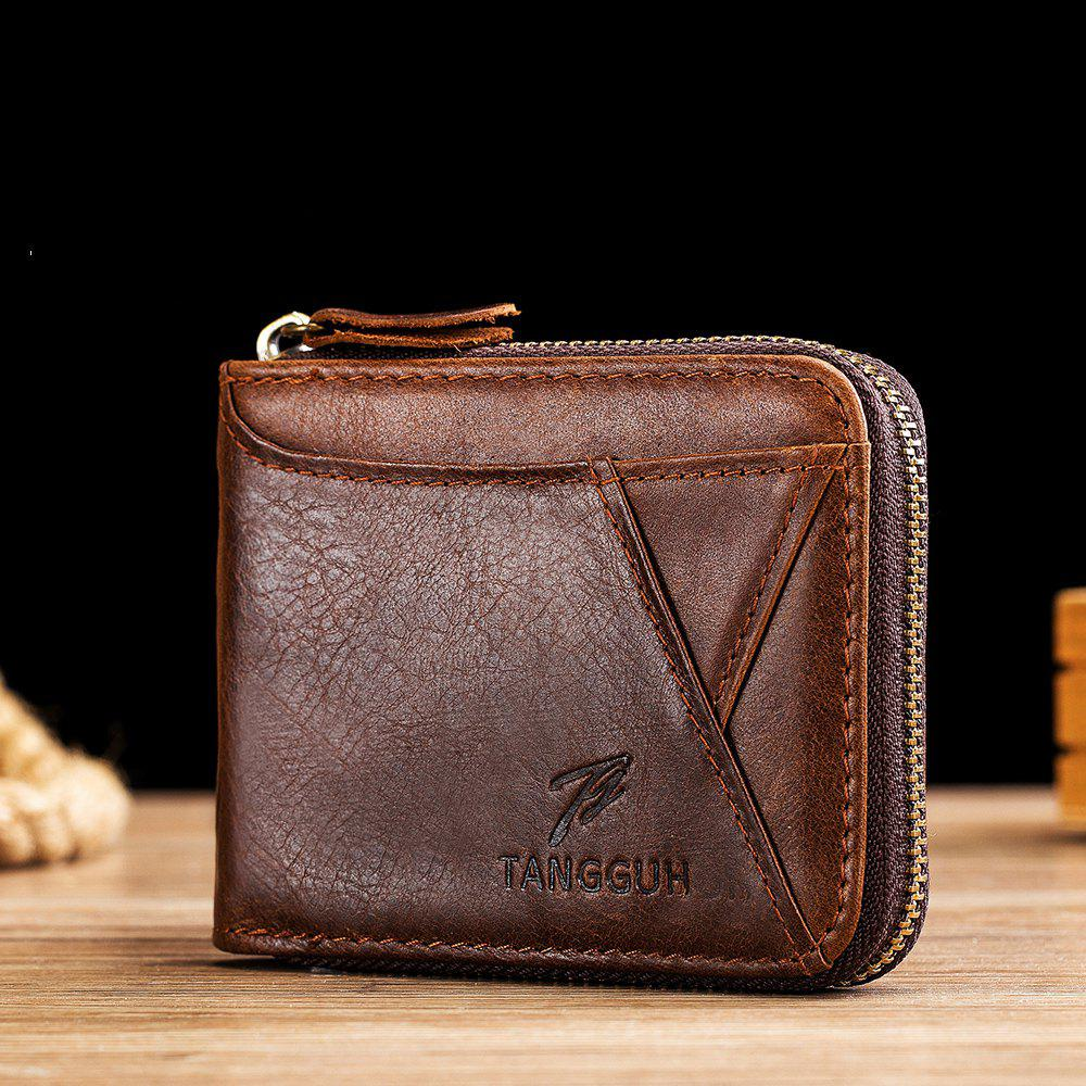 Latest Tangguh First Layer Cowhide Wallet Multi-Card Men'S Wallet