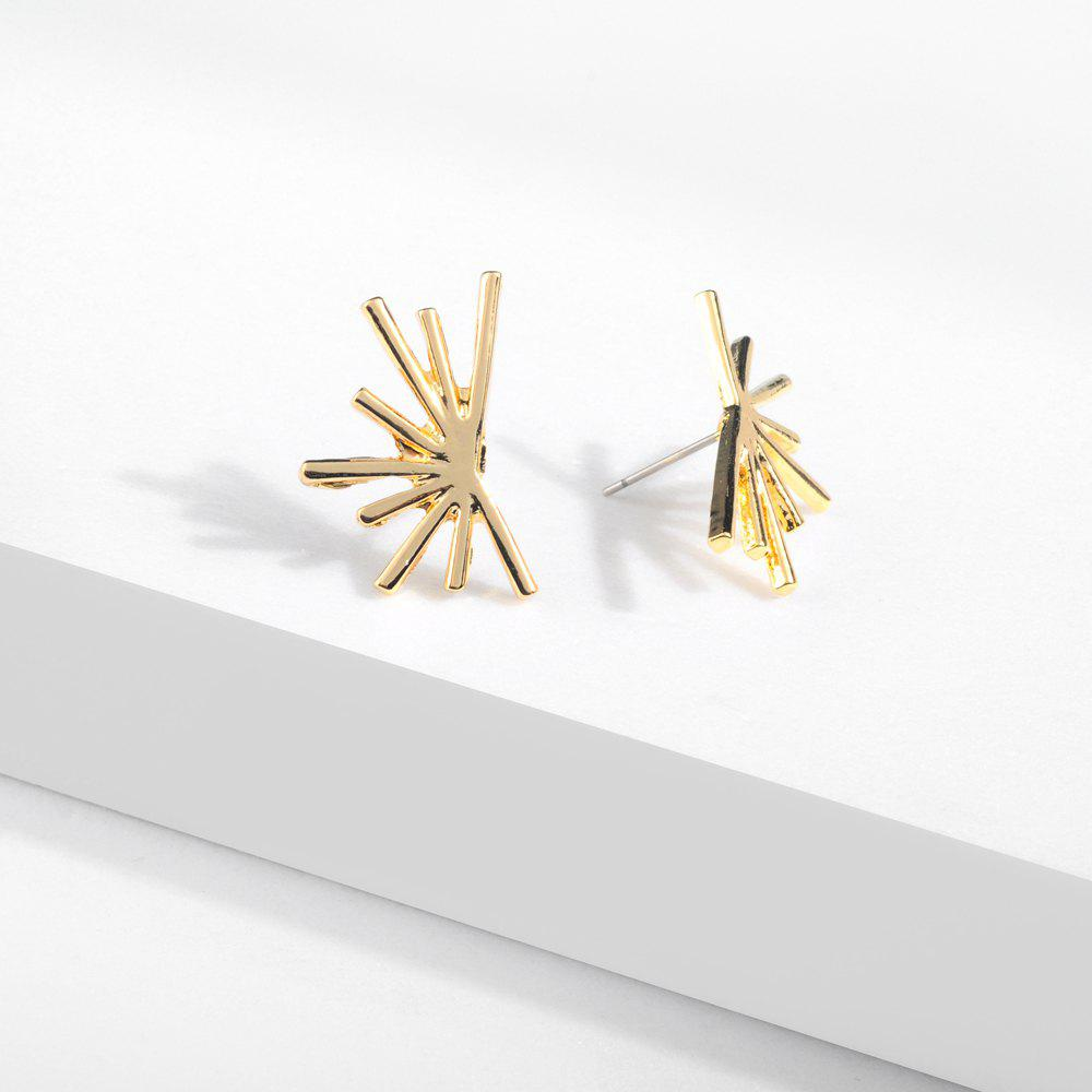 Outfits Personality S925 Anti-Allergy Silver Needle Temperament Alloy Earrings