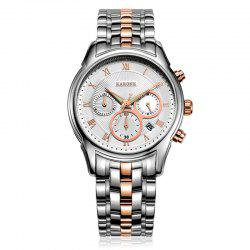 Rarone Chronograph Function Stainless Steel Wrist Sport Watch -