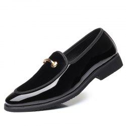Fashion Breathable Pointed Head Men Lazy Shoes -