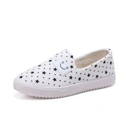 Female Star Smiling Face Leisure Shoes -
