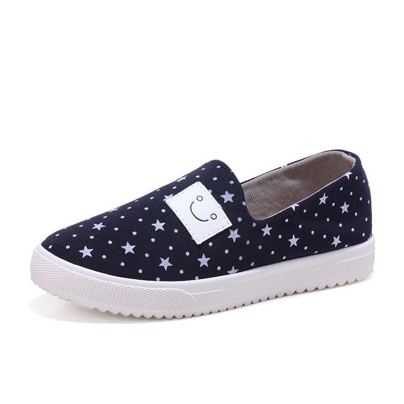 Discount Female Star Smiling Face Leisure Shoes