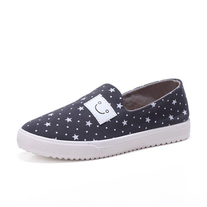Buy Female Star Smiling Face Leisure Shoes