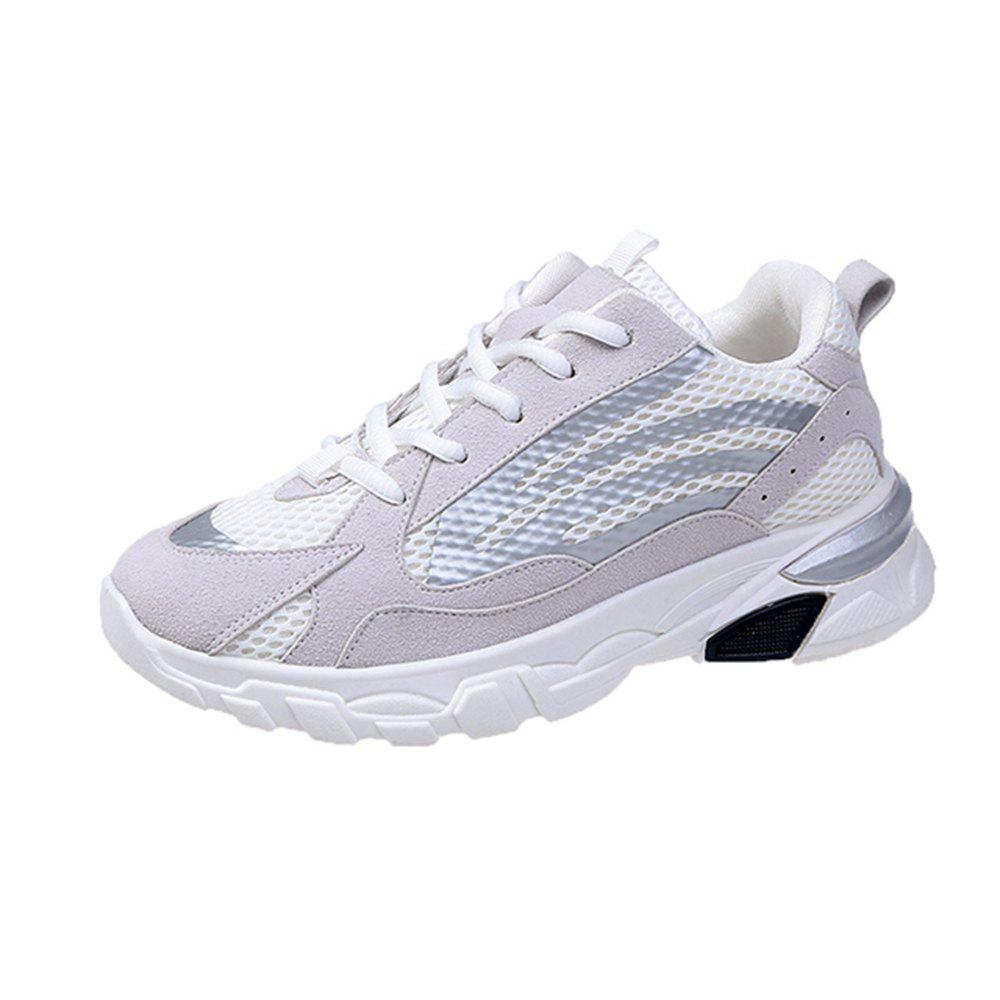 Discount 2019 Spring Breathable White Shoes New Casual Shoes