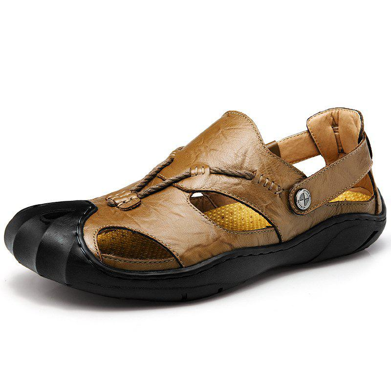 Latest Men'S Outdoor Casual Leather Sandals