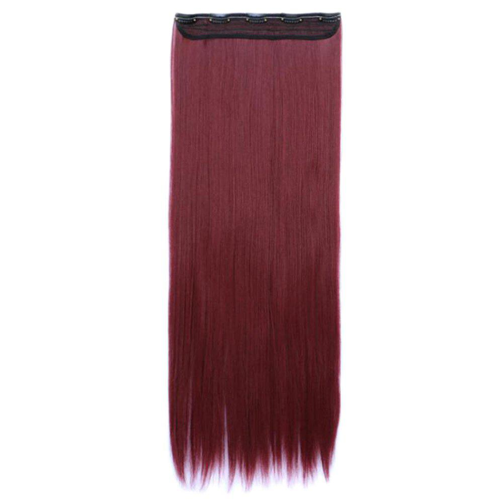 Discount Women Solid Color 70cm Long Straight Hair Extension
