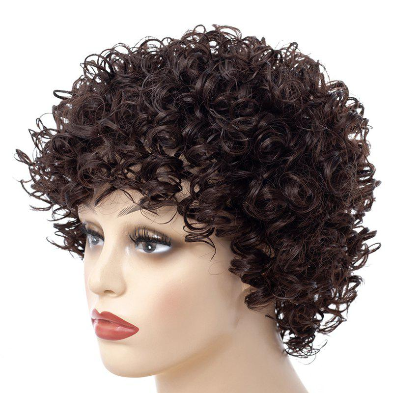 Afro Wild-Curl Up Small Curl Short Wig