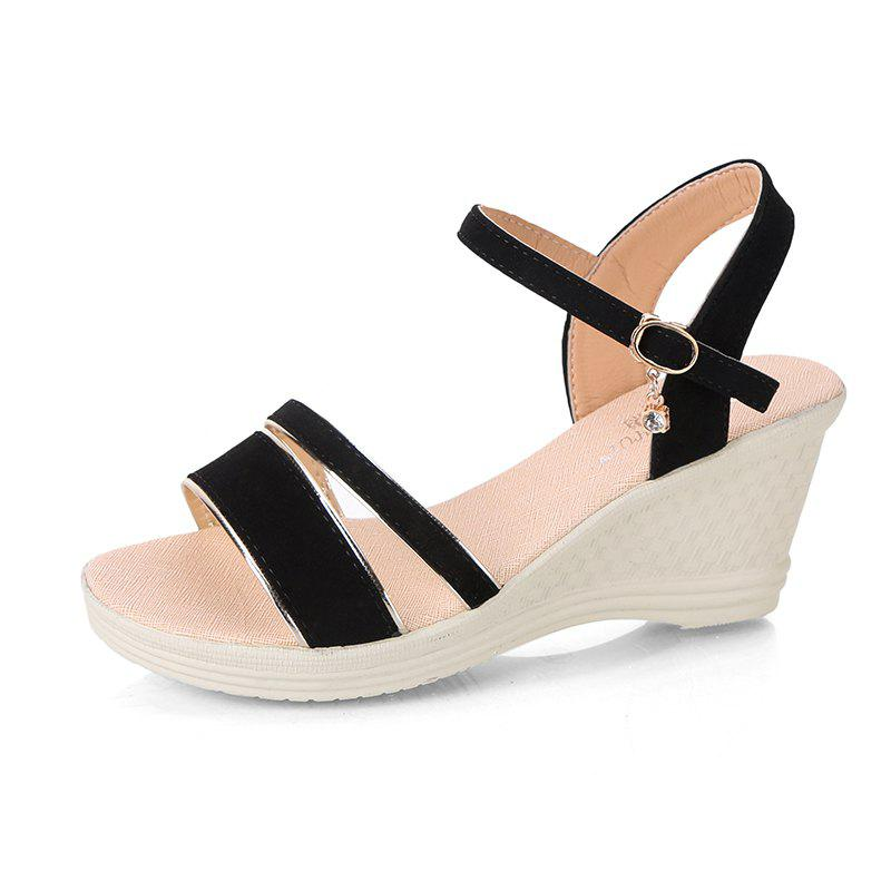 Discount Slope high Heels  Female Sandals