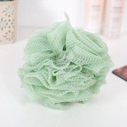 Plain Large Size Bath Ball Bath Flower Ball Foam Net Foam Ball Nylon Rub Bath Ba -