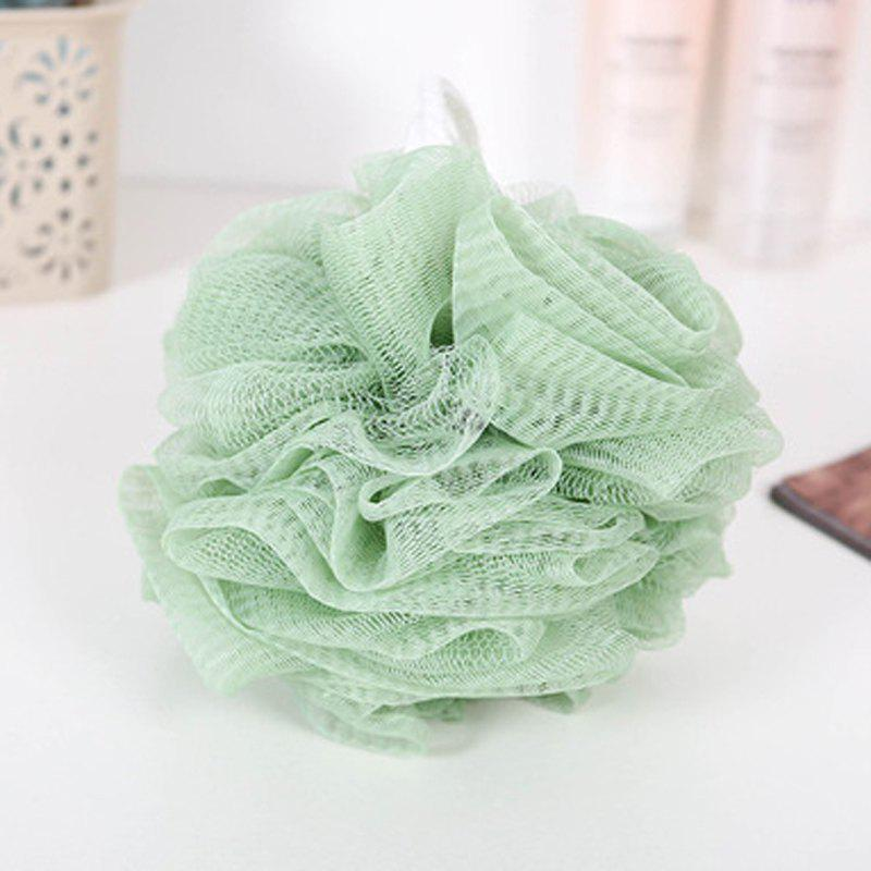 Fancy Plain Large Size Bath Ball Bath Flower Ball Foam Net Foam Ball Nylon Rub Bath Ba