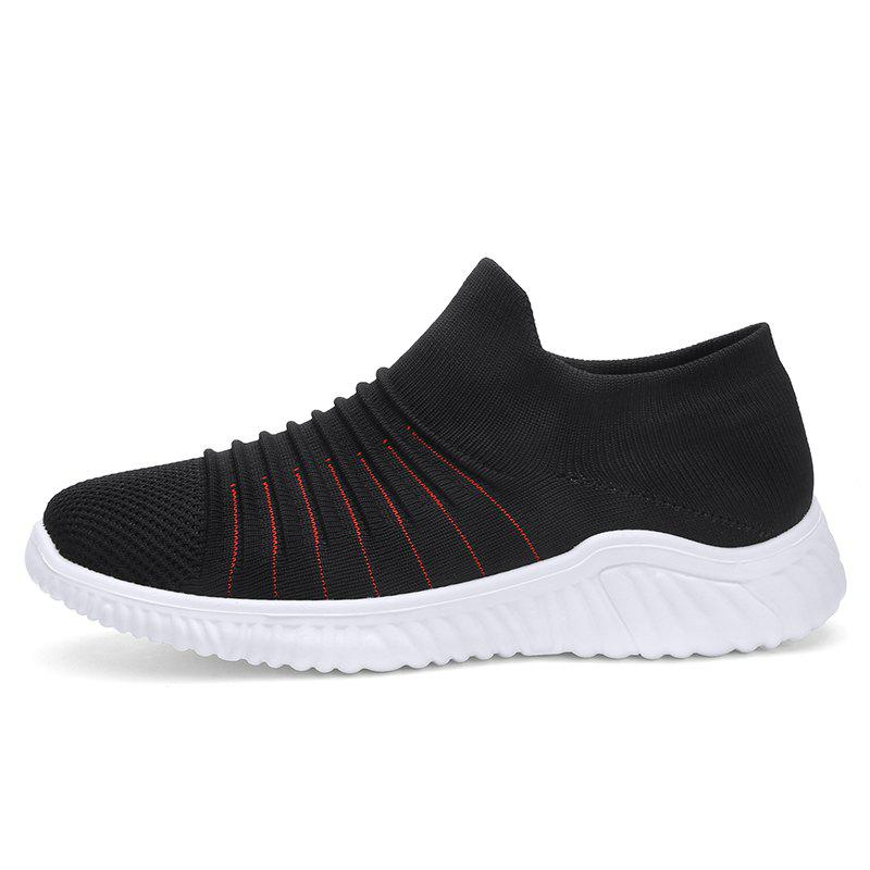 Unique Men'S Flying Woven Breathable Running Shoes Casual Sports Men'S Shoes S1906