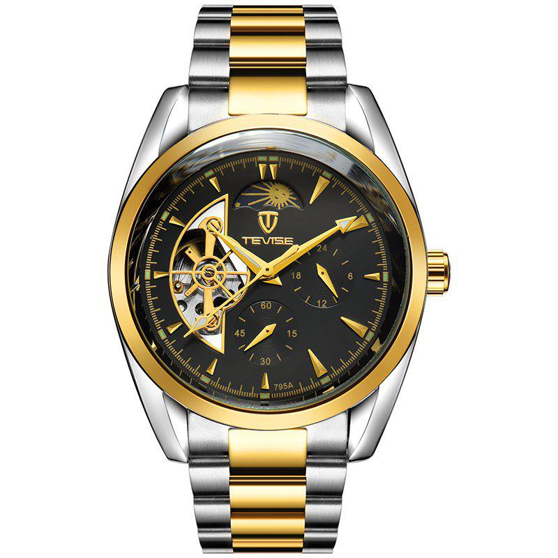 Hot Tevise High-End Fashion Men'S Mechanical Wristwatch