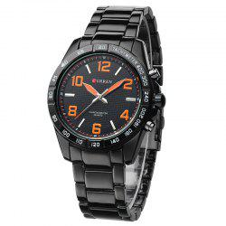 CURREN 8107 Men'S Steel Band Business Watch -