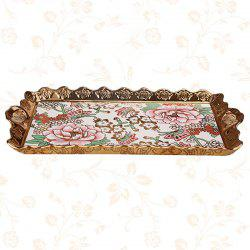 European Luxury Ceramic Tray Household Creative Fruit Plate -