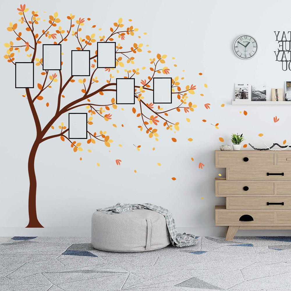 Sticker mural photo en PVC amovible pour arbre photo
