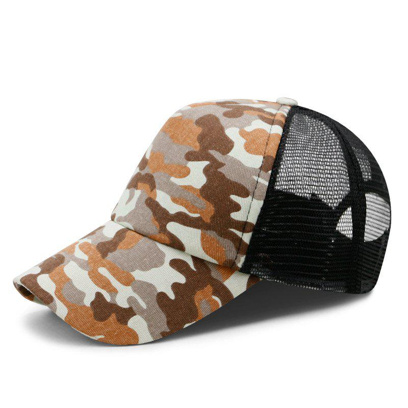 Latest Camouflage Breathable Mesh Cap Baseball Cap + Adjustable for 56-59CM