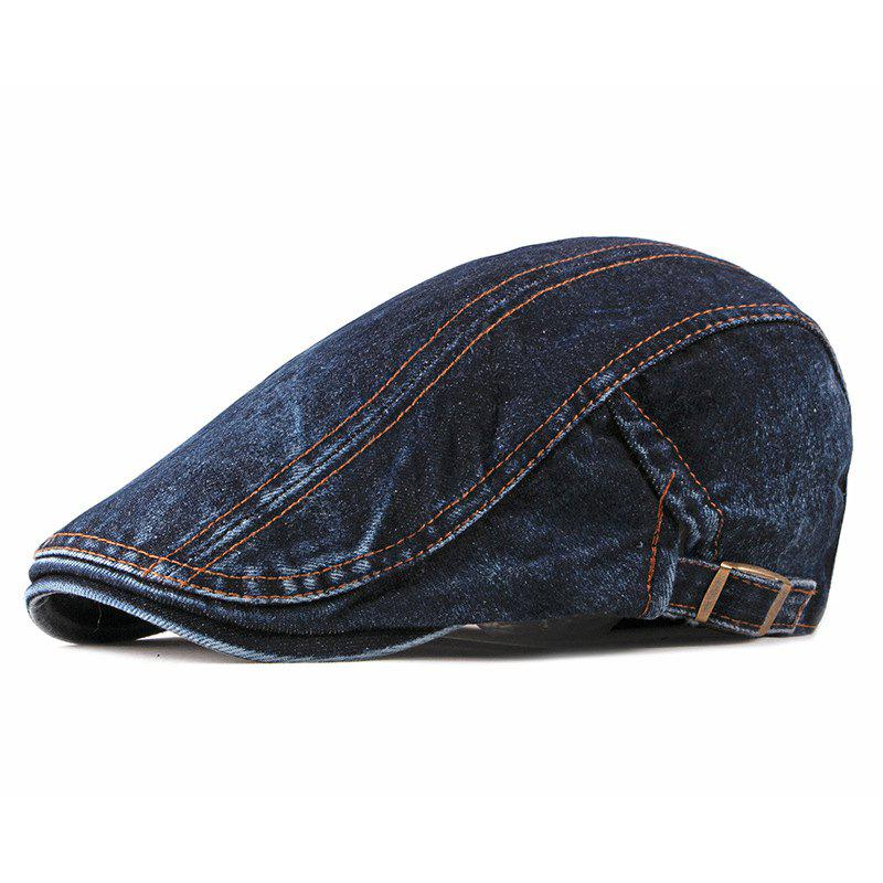 Latest Denim Beret Visor + Adjustable for 56-59CM