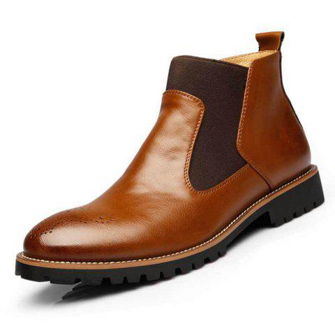 Spring Fashion High-Top Large Size Men Boots