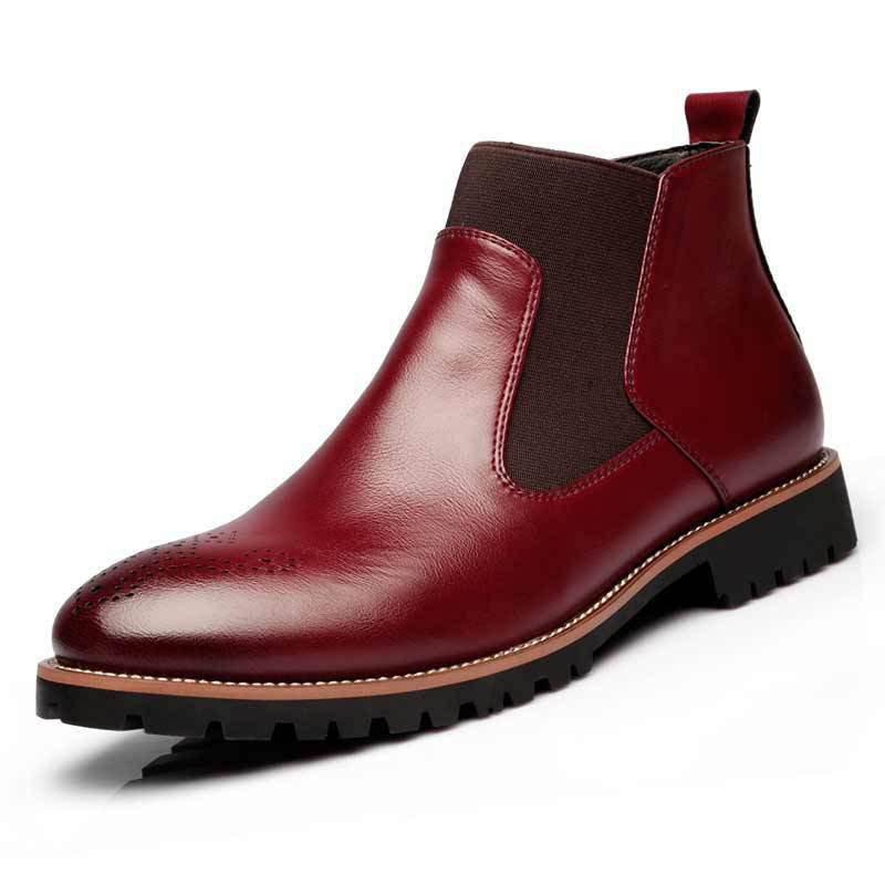 Fashion Spring Fashion High-Top Large Size Men Boots