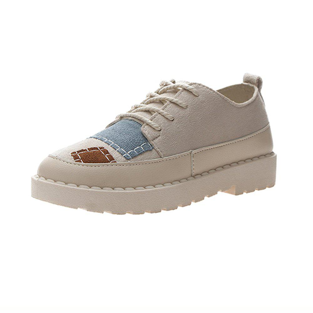 Trendy Spring Low Canvas Shoes Casual Ladies Shoes