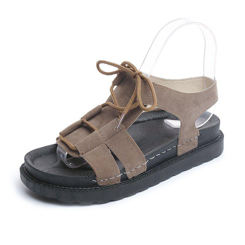 Fashion Fashion Thick-soled Lace-up Women Sandals for Summer