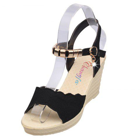 5777c16e123 Slope Fashion Thick-Bottomed Women Sandals