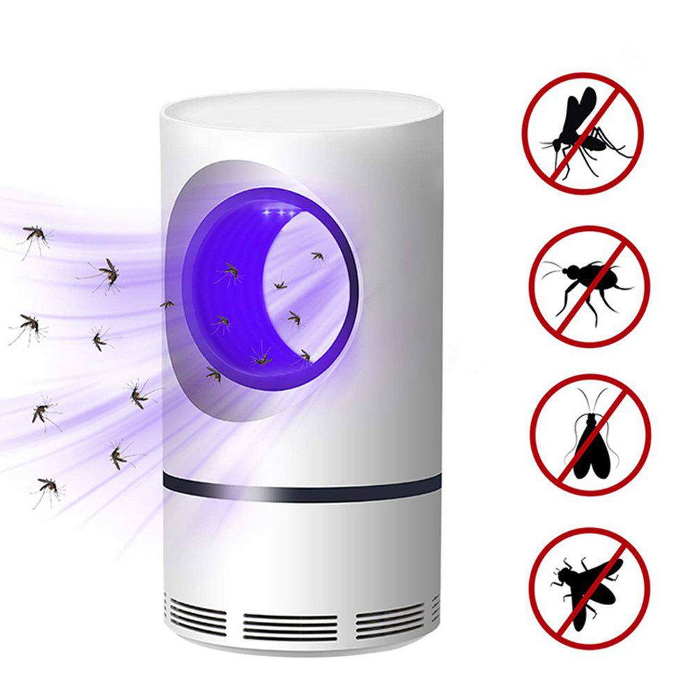 Shops Mosquito Killer Lamp LED Fly Bug Insect Killer Trap Physical Anti Mosquito Lamp