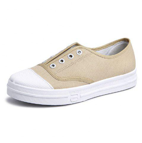 Comfortable and Stylish Casual Women Canvas Flat Shoes