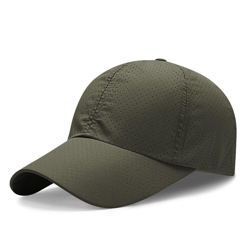 Hot Mesh Breathable and Quick-Drying Baseball Cap + Adjustable for 56-59CM