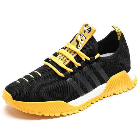 ba24fd301e2bc Summer Breathable Mesh Flying Woven Sports Running Shoes for Men