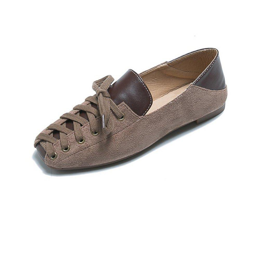 Chic Comfortable and Stylish Casual Women Flat Shoes with Front Tie