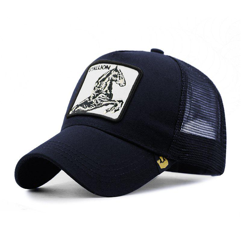 Fancy Animal Pattern Baseball Cap Breathable Cap + Adjustable for 55-59CM