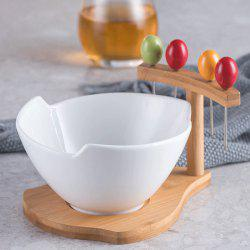 Ceramic Fruit Dish Snack Dessert Bowl -