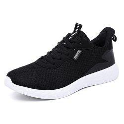 Men Mesh Running Male Breathable Outdoor Sports Shoes Athletic Sneakers -